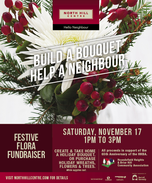 Build a Bouquet. Help a Neighbour.