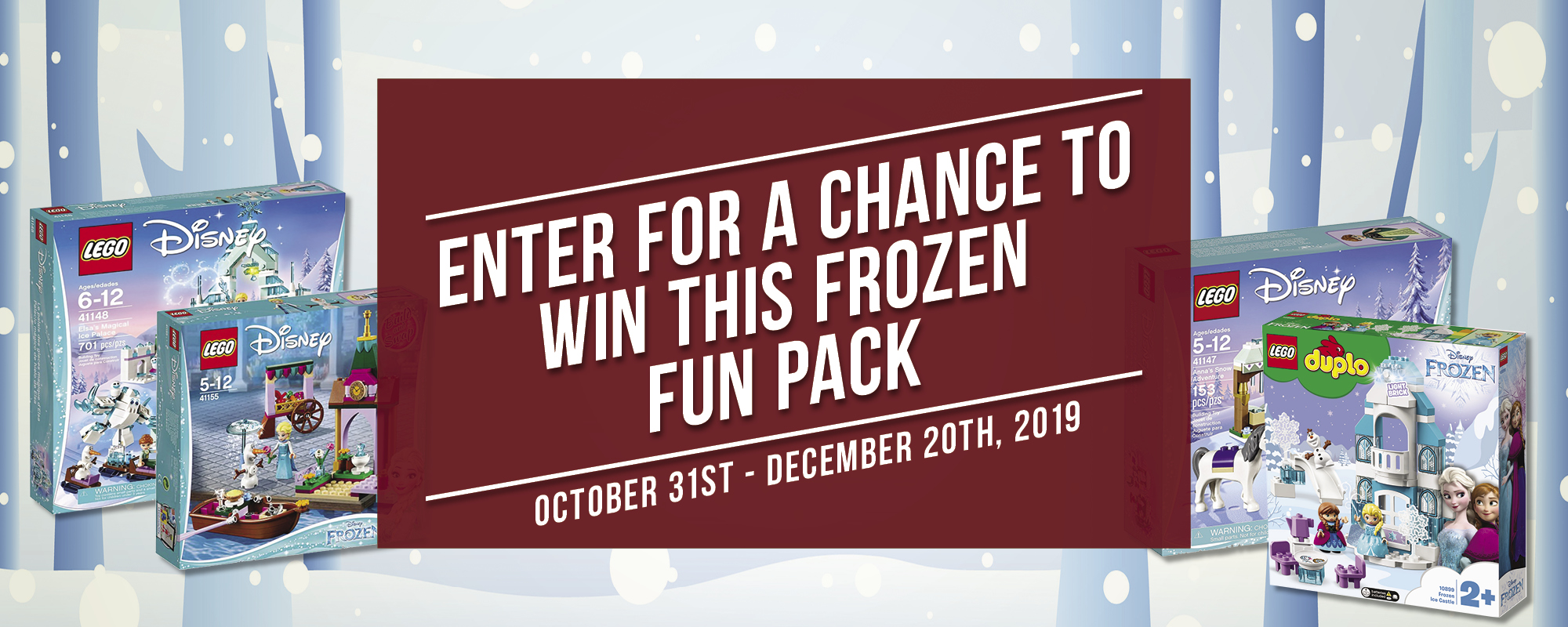 frozen fun pack contest